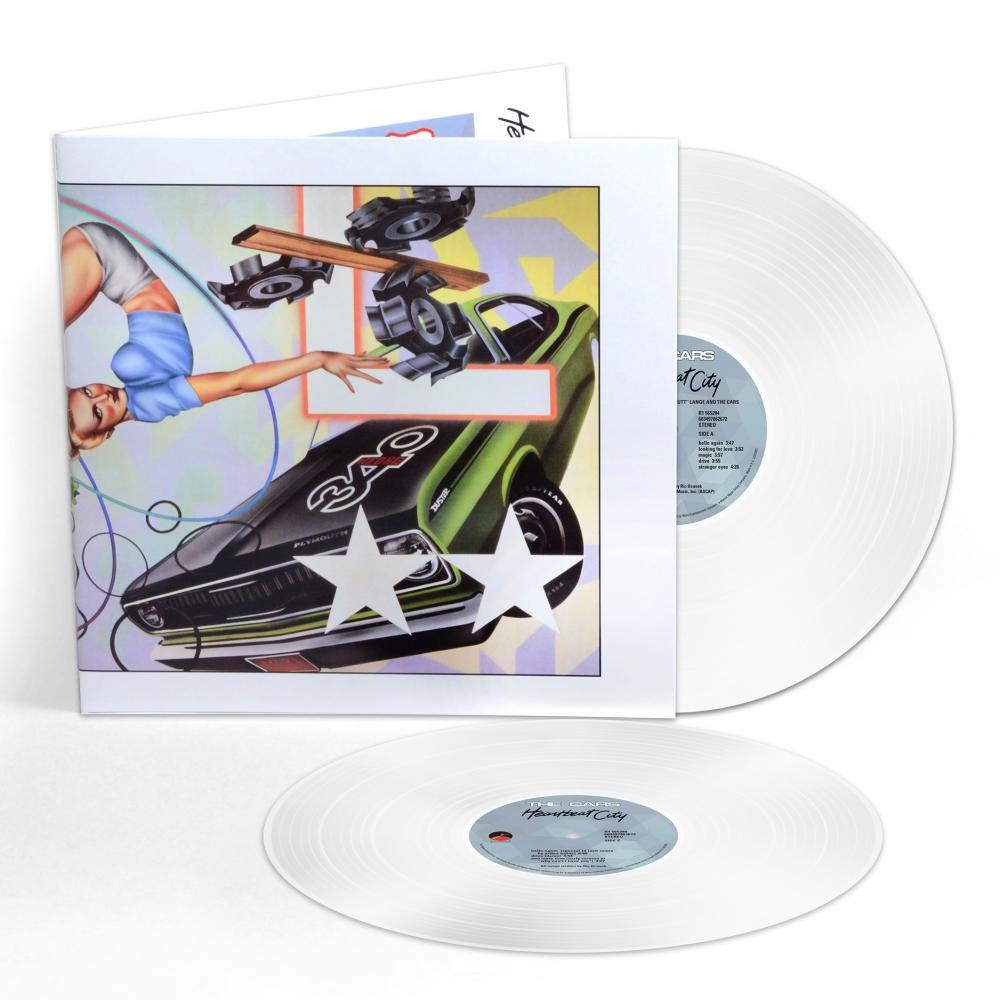 Buy Online The Cars - Heartbeat City (Expanded Edition) Double Coloured Vinyl