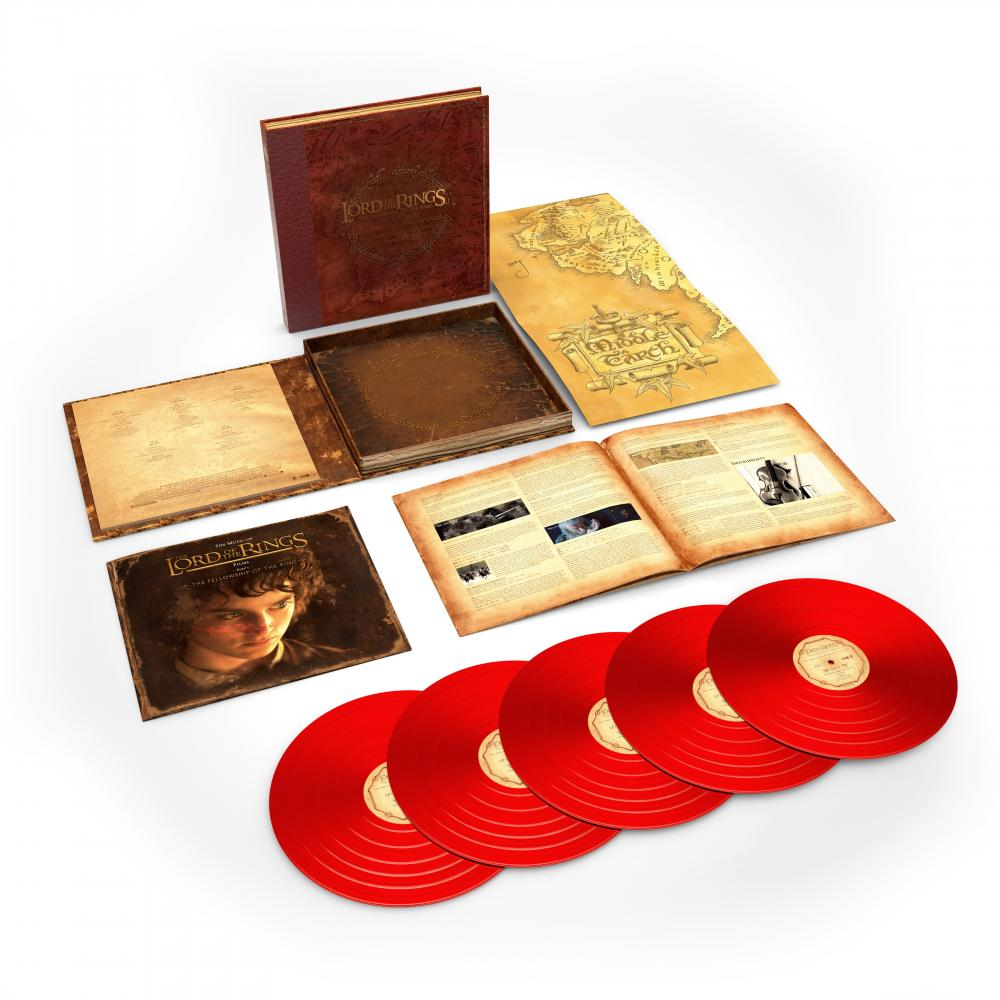 Buy Online Howard Shore - The Lord Of The Rings: The Fellowship Of The Ring - The Complete Recordings 5LP Boxset