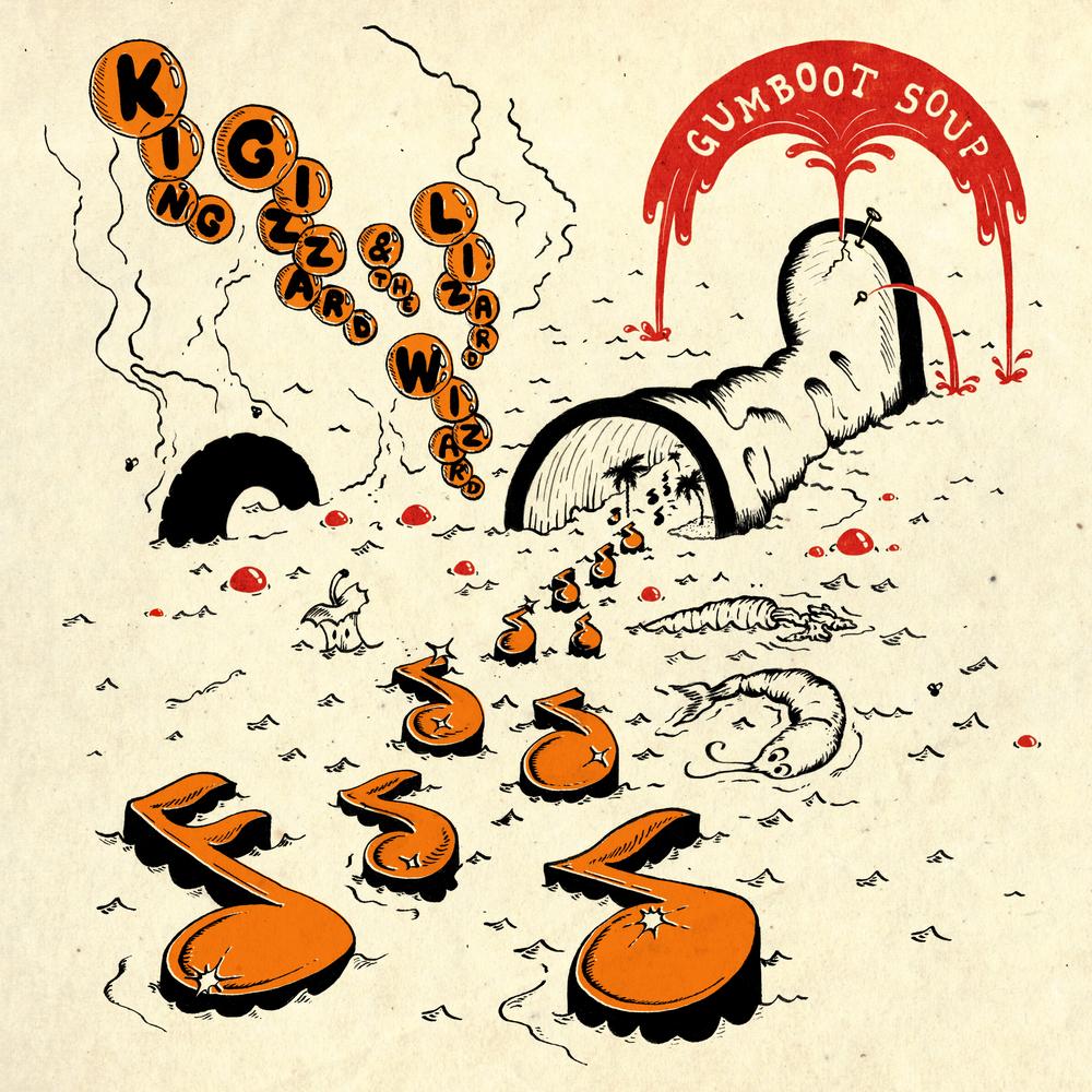 Buy Online King Gizzard & The Lizard Wizard - Gumboot Soup Orange Vinyl