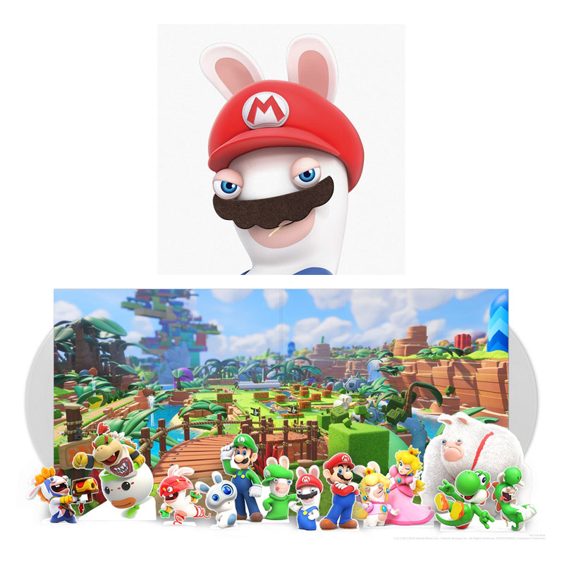 Buy Online Grant Kirkhope - Mario + Rabbids Kingdom Battle Double Translucent Vinyl