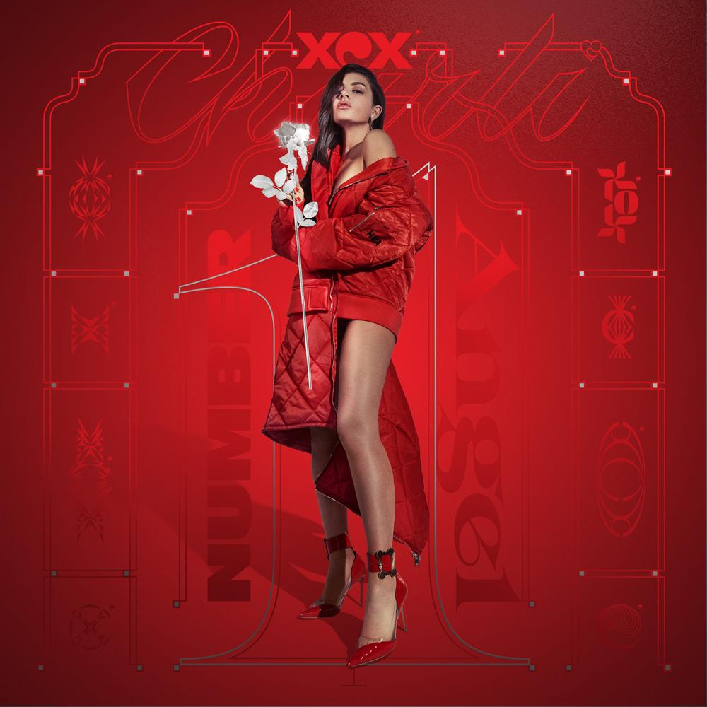 Buy Online Charli XCX - Number 1 Angel Red Vinyl + Pop 2 Clear vinyl