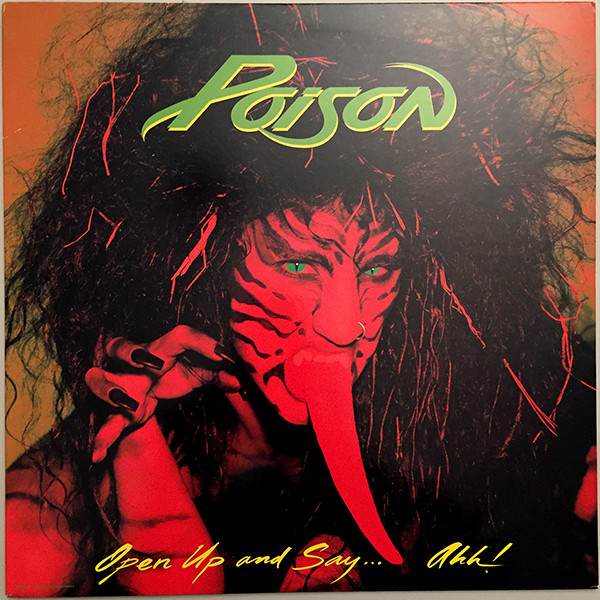 Buy Online Poison - Open Up And Say Ahh! Black Vinyl