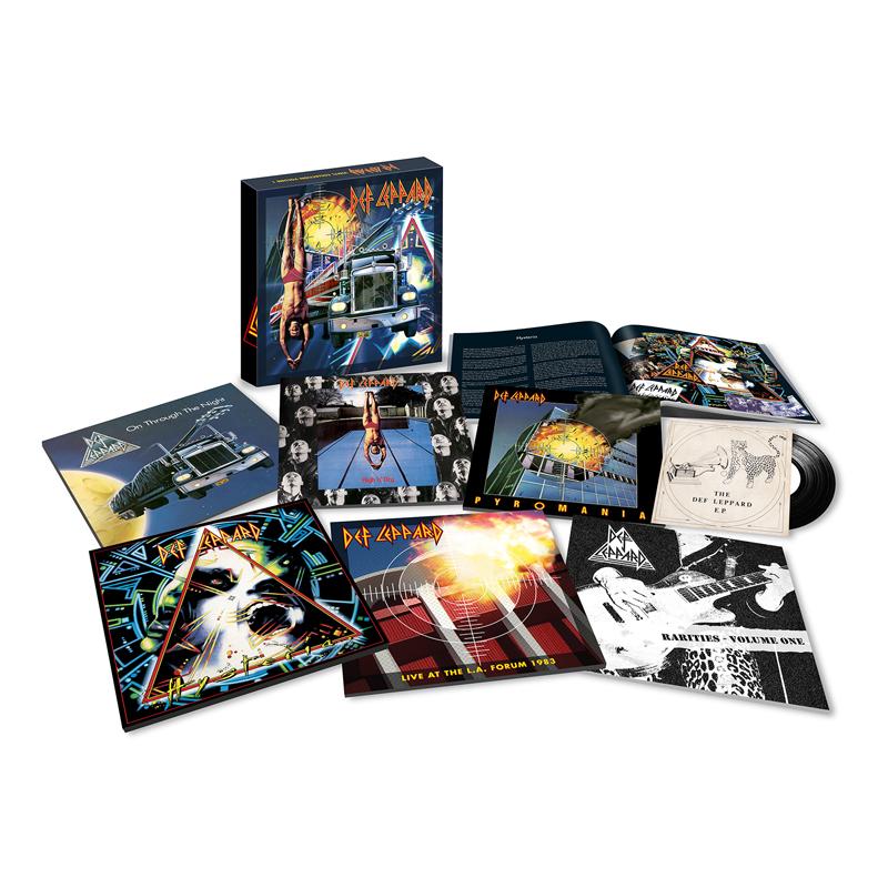 Buy Online Def Leppard - Volume One 8-Disc + 7-Inch Vinyl Boxset