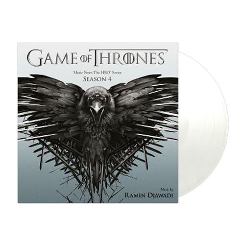 Buy Online Ramin Djawadi - Game Of Thrones Season 4 OST Double Vinyl (Ltd Edition Transparent Vinyl)