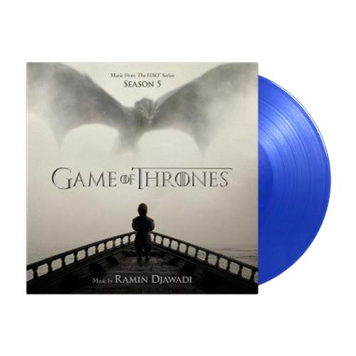 Buy Online Ramin Djawadi - Game Of Thrones Season 5 OST Double Vinyl (Ltd Edition Transparent Blue Vinyl)