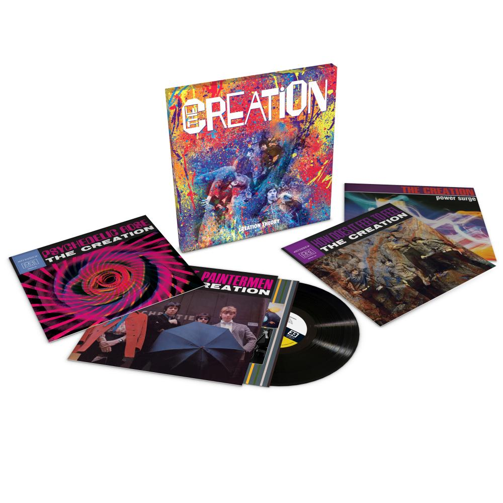 Buy Online The Creation - The Creation Four-Disc Boxset