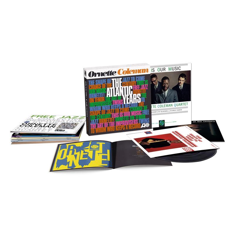 Buy Online Ornette Coleman - The Atlantic Years 10-Disc Heavyweight Boxset