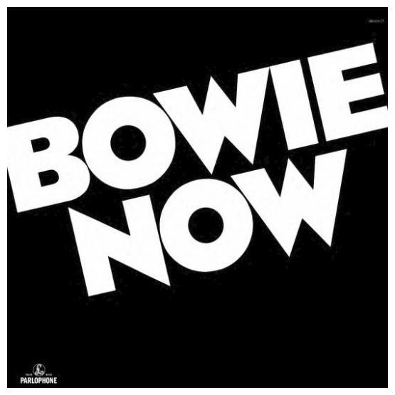 Buy Online David Bowie - Now White Vinyl
