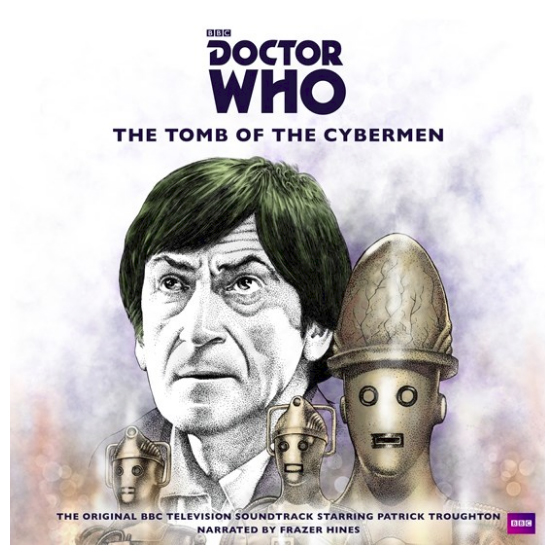 Buy Online Various Artists - Doctor Who: The Tomb Of The Cyberman Double Silver Vinyl