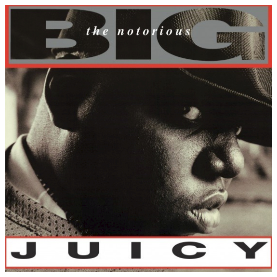 Buy Online Notorious B.I.G. - Juicy Black/Clear Marble Vinyl