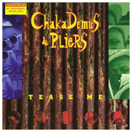 Buy Online Chaka Demus & Pliers - Tease Me 12-Inch Yellow Vinyl