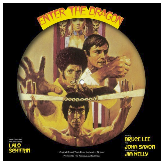 Buy Online Lalo Schiffrin - Enter The Dragon OST Picture Disc Vinyl