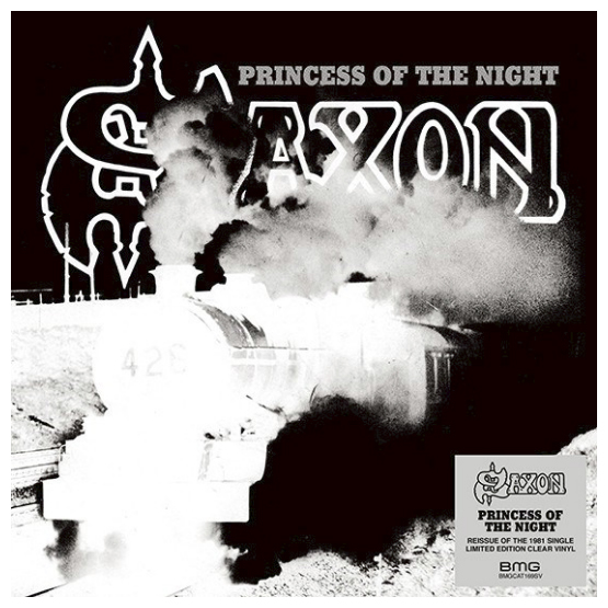 Buy Online Saxon - Princess Of The Night 7-Inch Coloured Vinyl