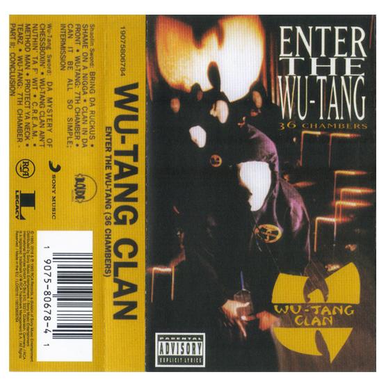 Buy Online Wu-Tang Clan - Enter The Wu-Tang 36 Chambers Cassette