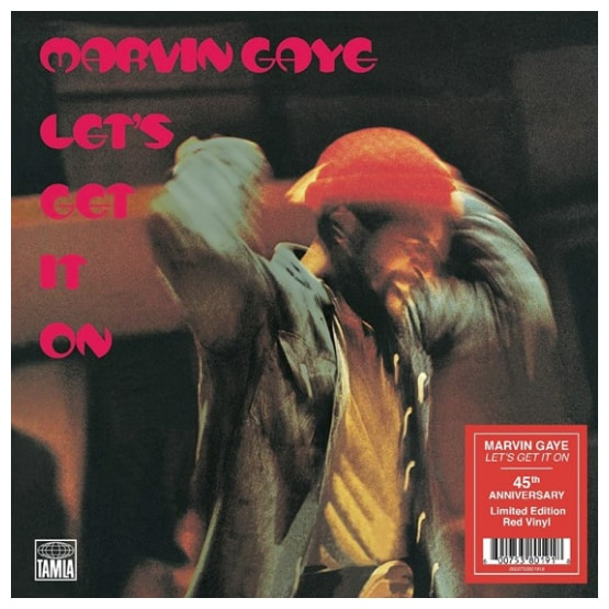 Buy Online Marvin Gaye - Let's Get It On (45th Anniversary Edition) Red Vinyl