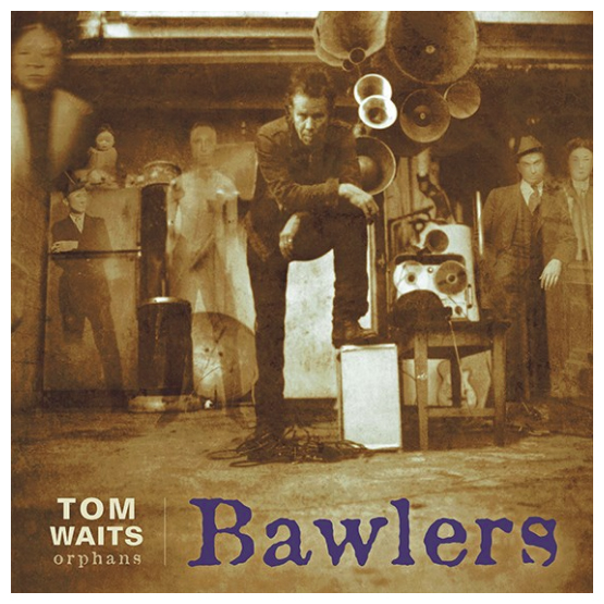Buy Online Tom Waits - Bawlers Blue Double Vinyl