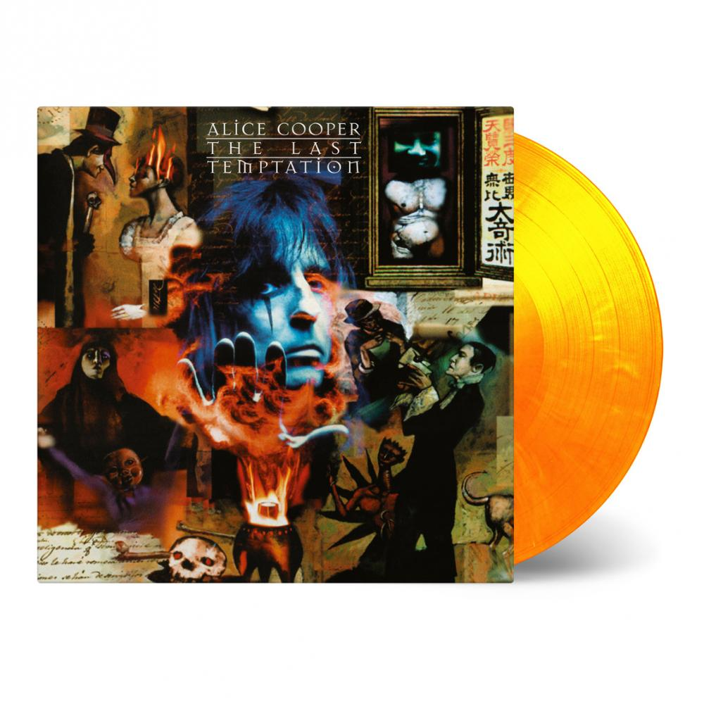 Buy Online Alice Cooper - The Last Tempation Flame Coloured Vinyl