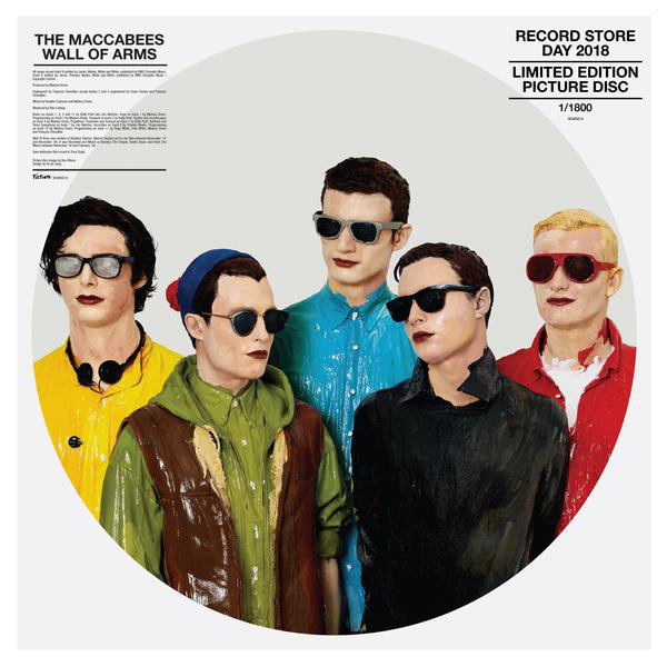 Buy Online The Maccabees - Wall Of Arms Ltd Edition Picture Disc Vinyl
