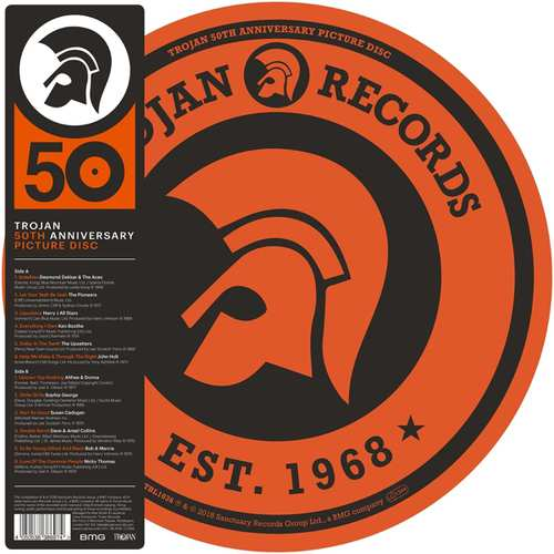 Buy Online Various Artists - Trojan Records: 50th Anniversary Picture Disc Vinyl