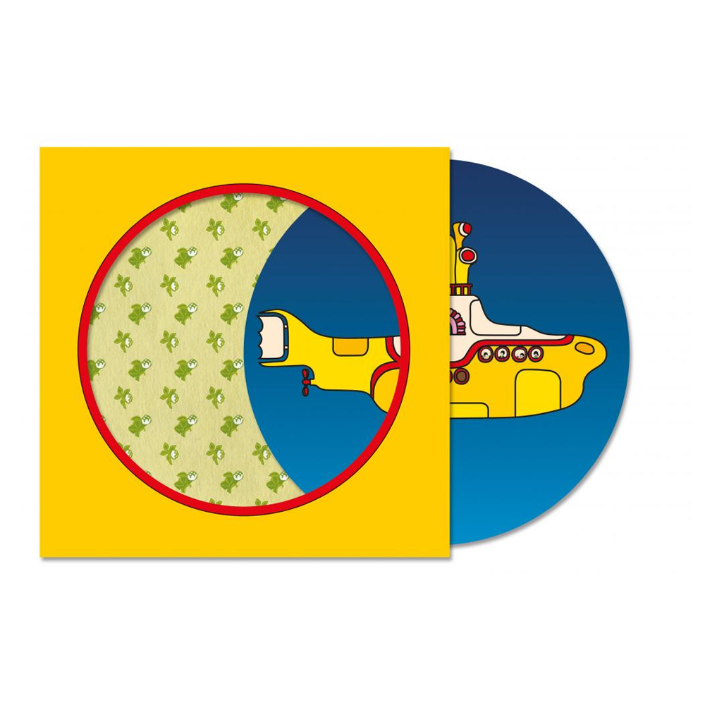 Buy Online The Beatles - Yellow Submarine 7-Inch Picture Disc Vinyl
