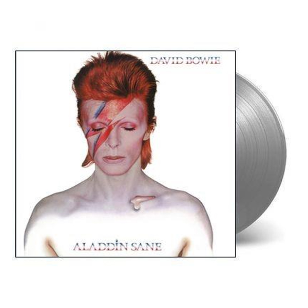 Buy Online David Bowie - Aladdin Sane Silver Vinyl (Ltd Edition)