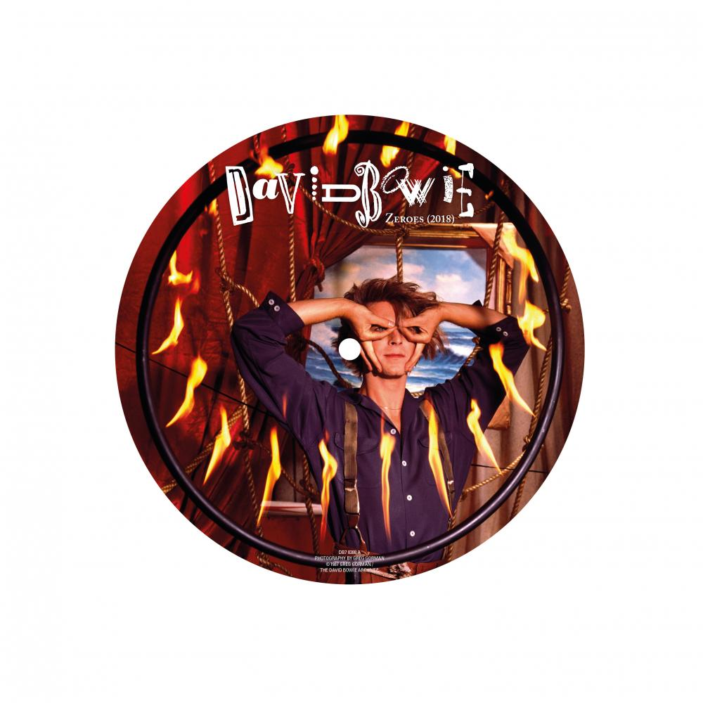 Buy Online David Bowie - Zeros 7-Inch Picture Disc
