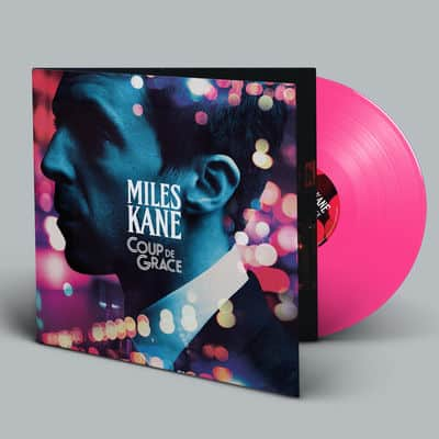 Buy Online Miles Kane - Coup De Grace Pink Vinyl