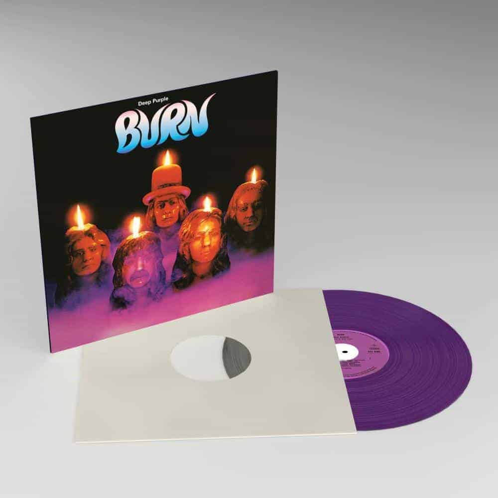 Buy Online Deep Purple - Burn Purple Vinyl