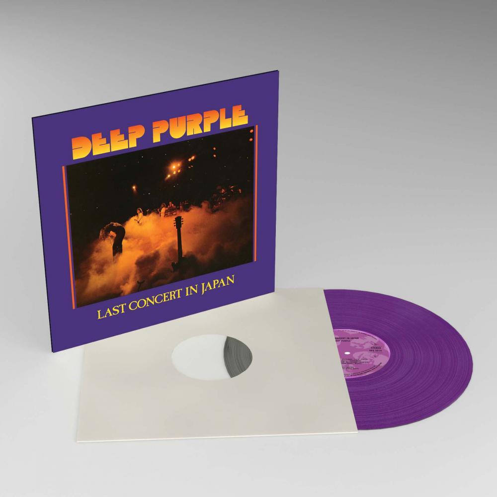 Buy Online Deep Purple - Last Concert In Japan Purple Vinyl