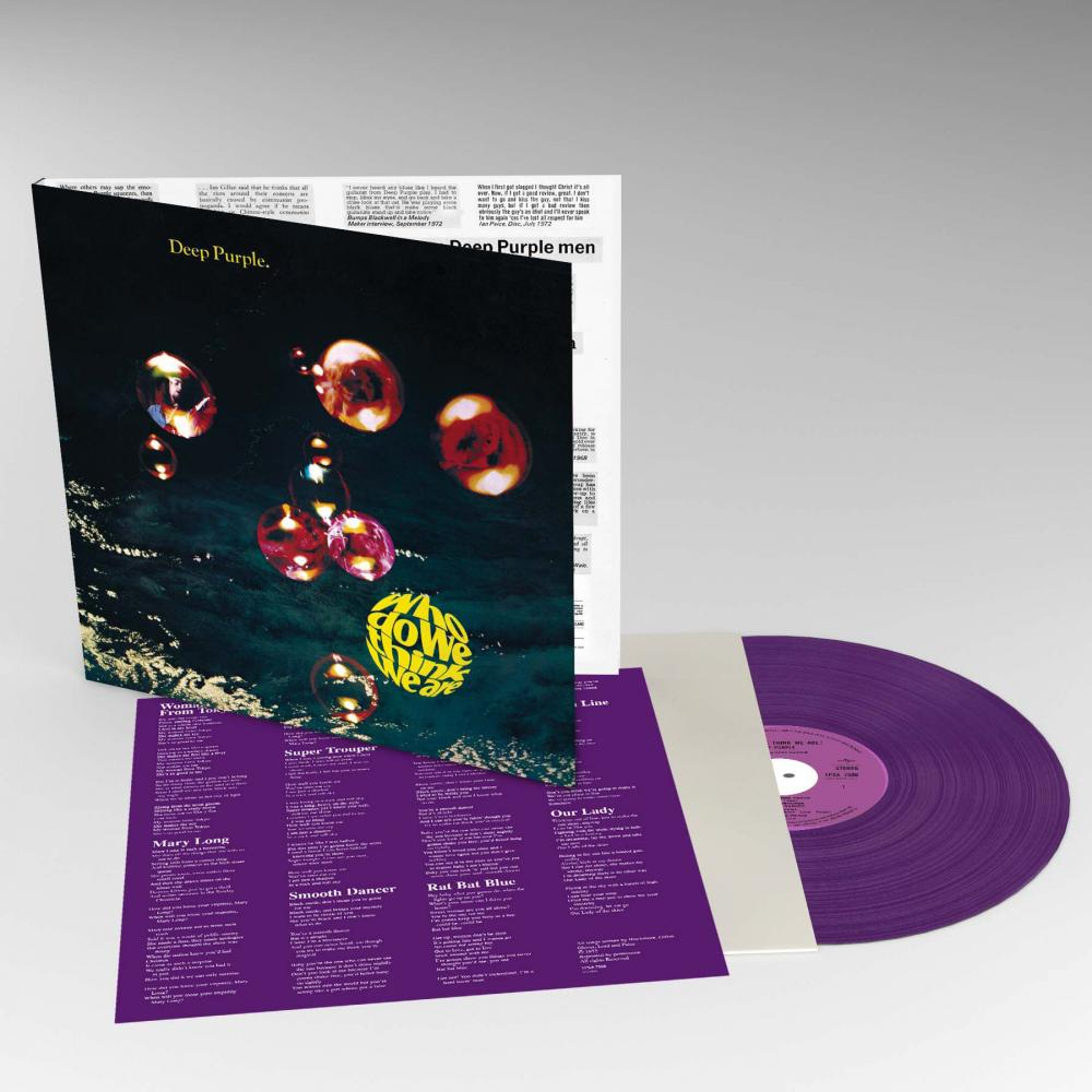Buy Online Deep Purple - Who Do We Think We Are? Purple Vinyl