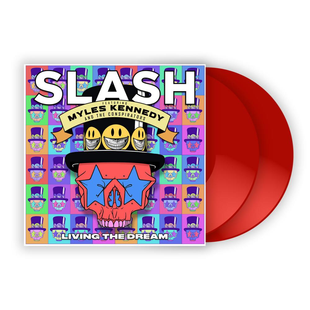 Buy Online Slash ft. Myles Kennedy & The Conspirators - Living The Dream Red Double Vinyl