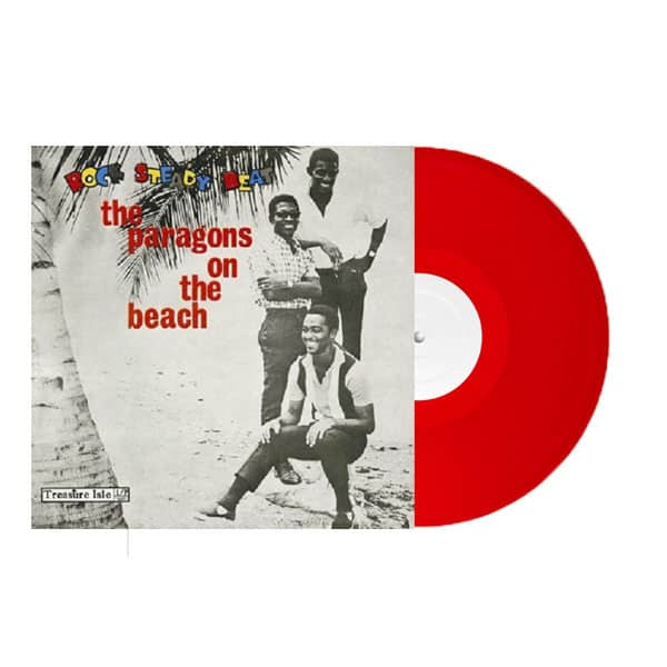 Buy Online The Paragons - On The Beach Red Vinyl