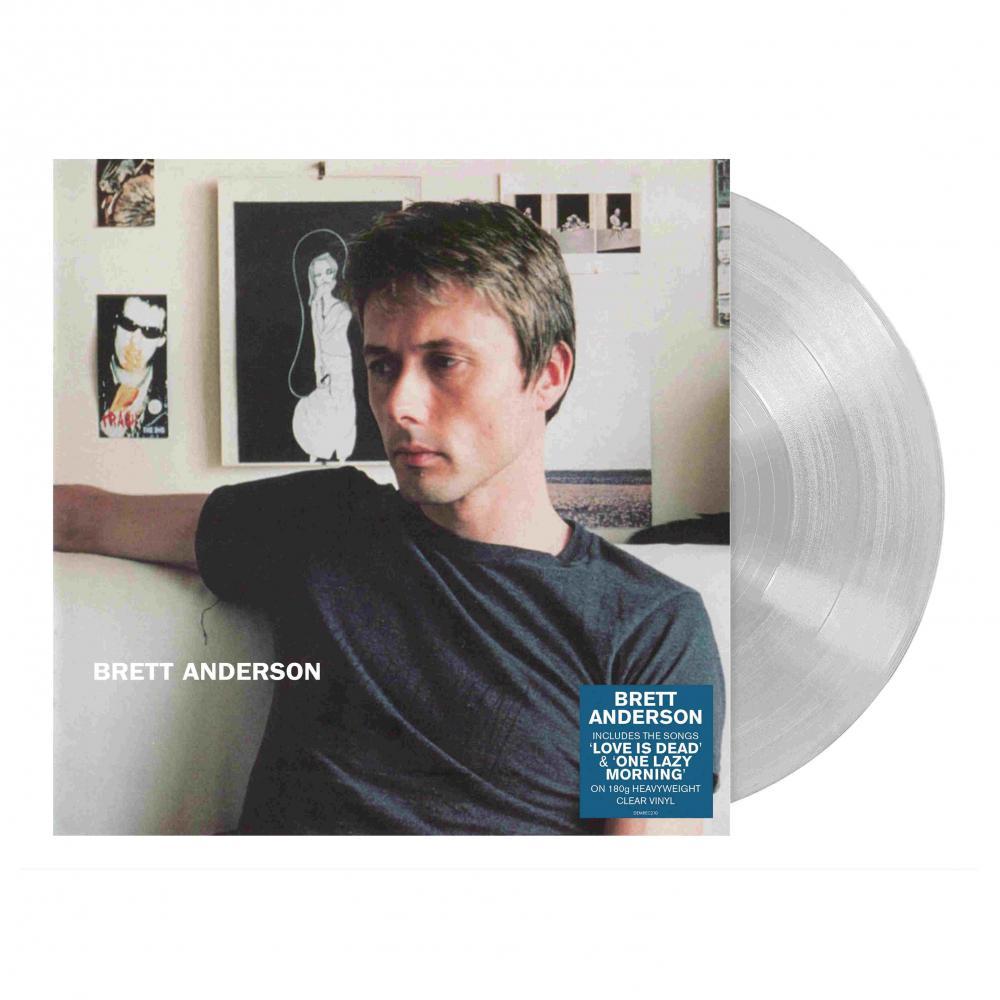 Buy Online Brett Anderson - Brett Anderson Clear Vinyl