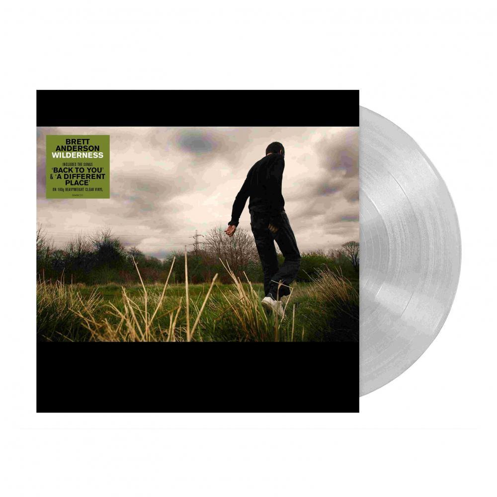 Buy Online Brett Anderson - Wilderness Clear Vinyl