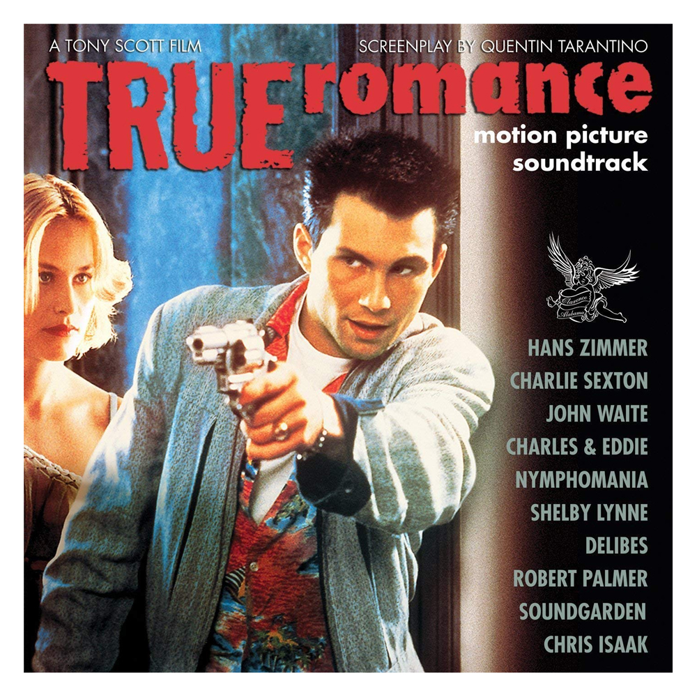 Buy Online Various Artists - True Romance OST Ltd Edition Clear/White Splatter Vinyl