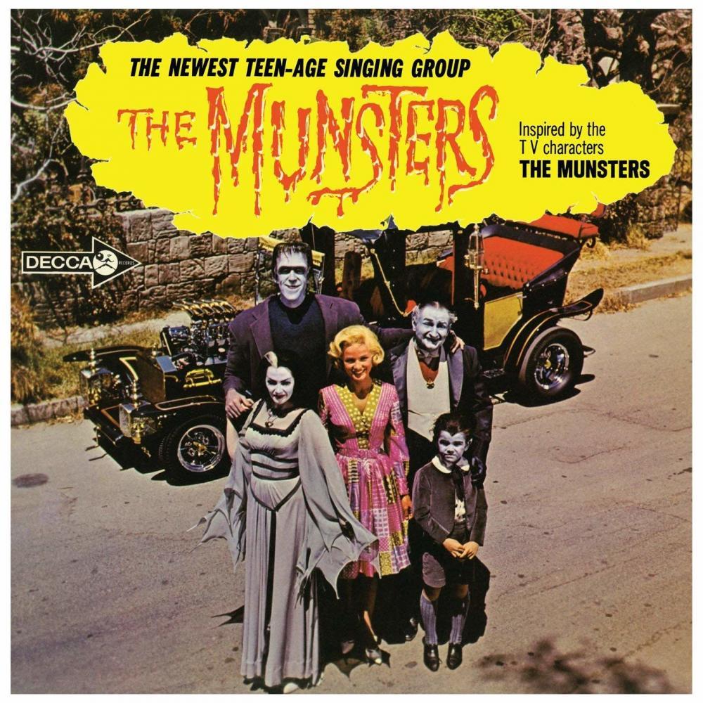Buy Online The Munsters - The Munsters Ltd Edition Herman Green Vinyl