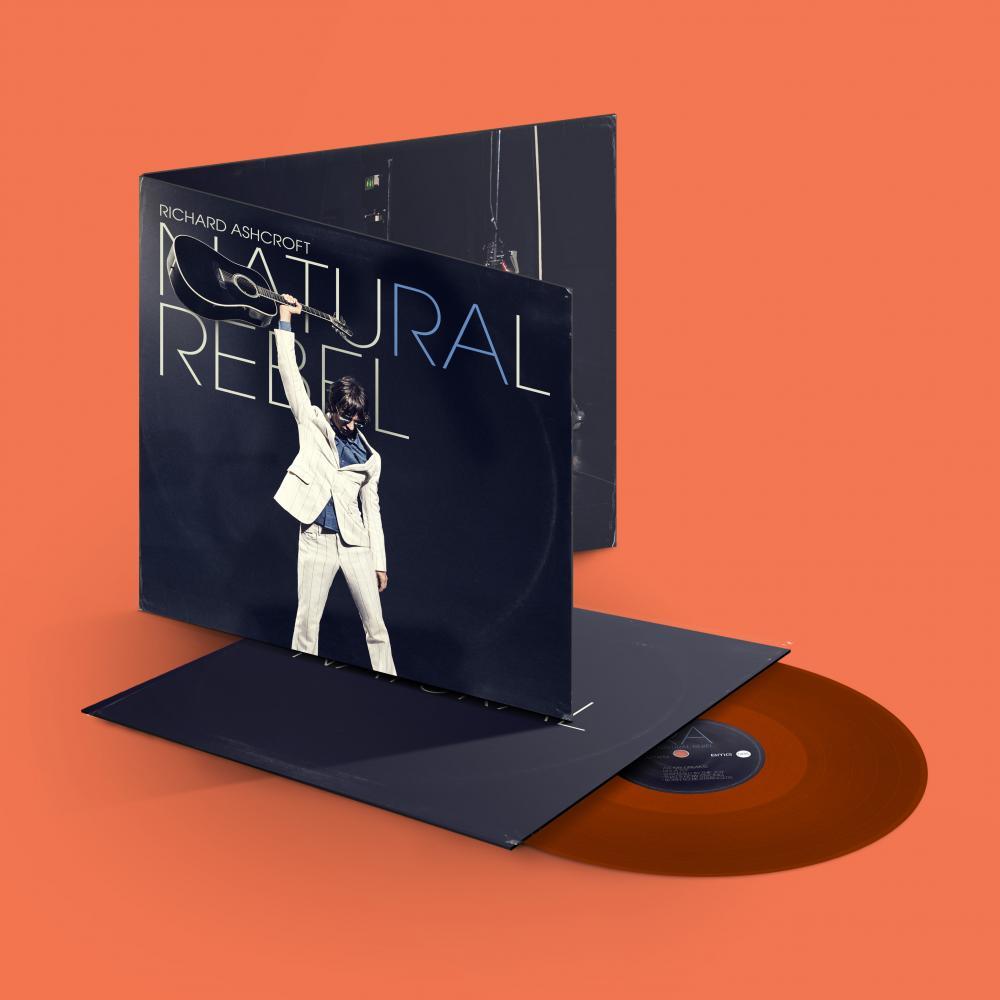 Buy Online Richard Ashcroft - Natural Rebel Orange Vinyl (Ltd Edition)