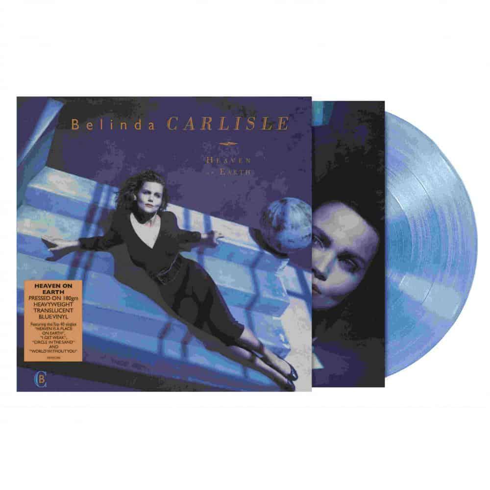 Buy Online Belinda Carlisle - Heaven On Earth Translucent Blue Vinyl