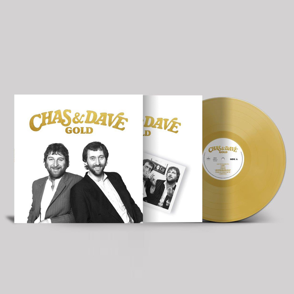 Buy Online Chas & Dave - Gold Vinyl (Gold Coloured Vinyl)