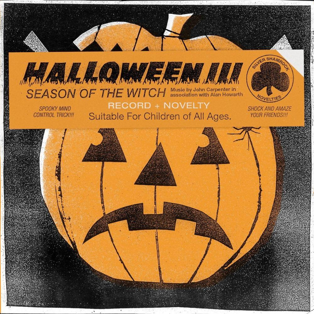 Buy Online John Carpenter - Halloween III: Season Of The Witch 'Witch Mask' Coloured Vinyl (Includes Magic Trick)