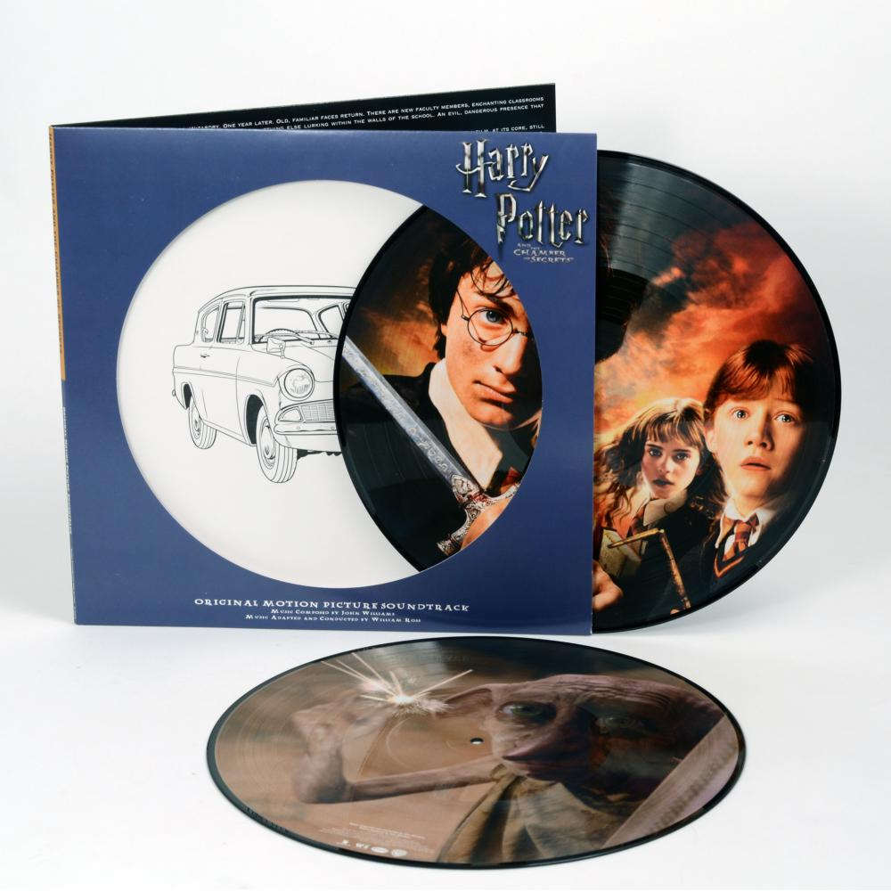 Buy Online John Williams - Harry Potter And The Chamber Of Secrets OST Double Picture Disc Vinyl