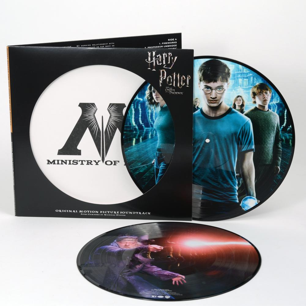 Buy Online Nicholas Hooper - Harry Potter And The Order Of The Phoenix OST Double Picture Disc Vinyl