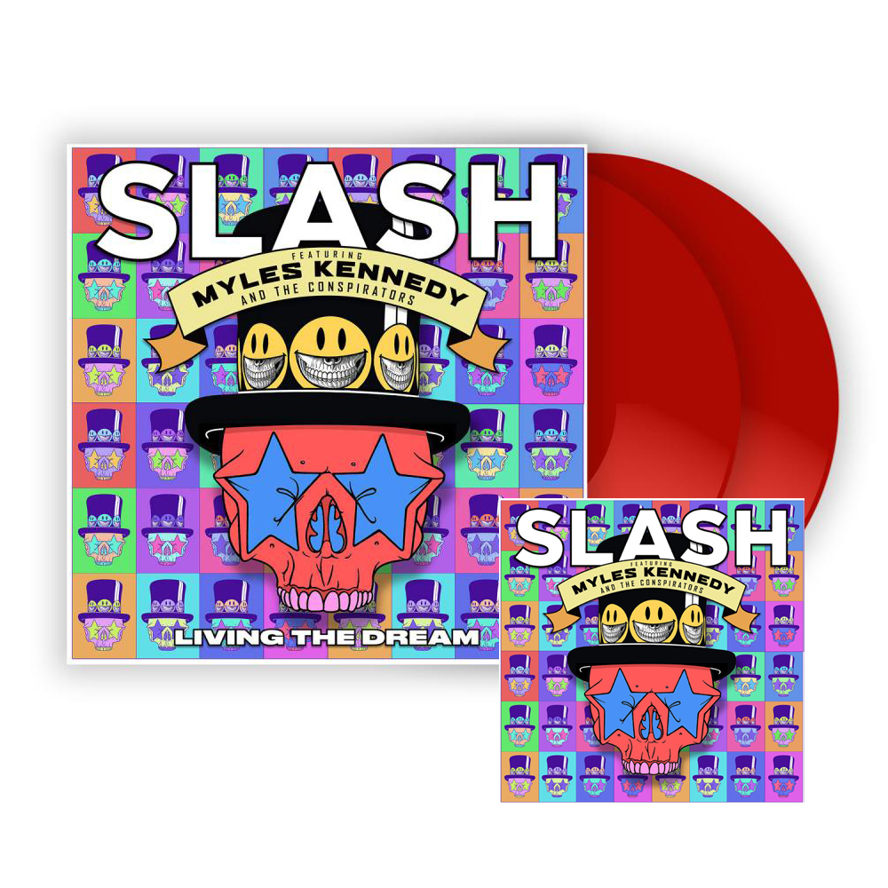 Buy Online Slash ft. Myles Kennedy & The Conspirators - Living The Dream Red Double Vinyl + CD Album