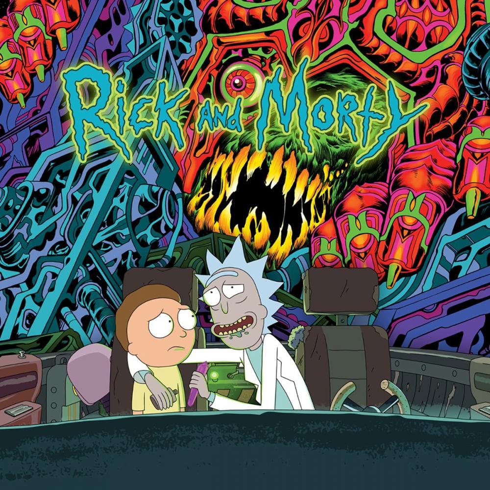Buy Online Rick & Morty - The Rick & Morty Soundtrack - Loser Edition Green & Light Blue Splatter Vinyl