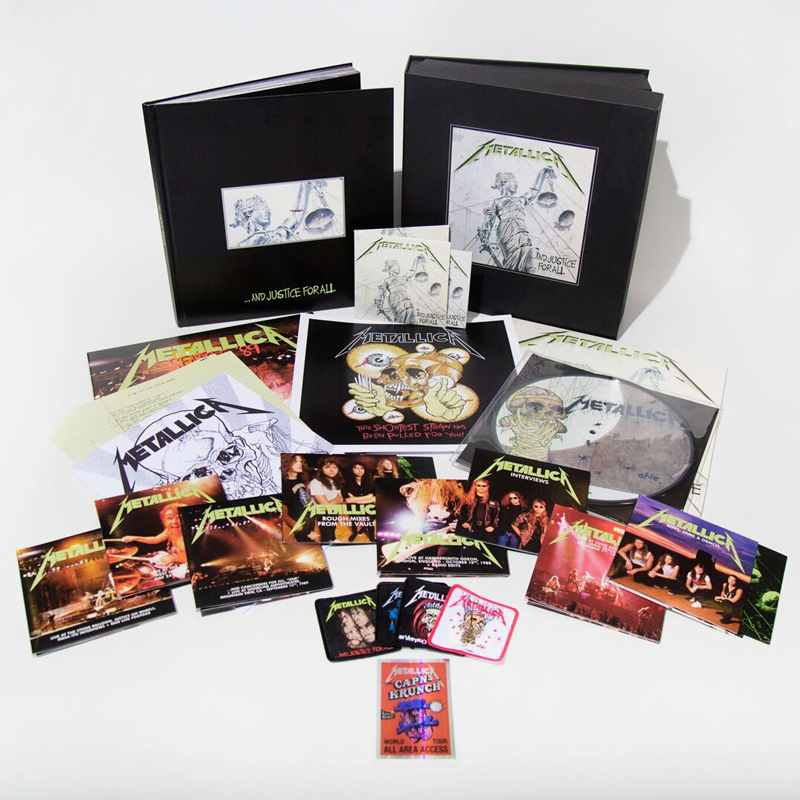 Buy Online Metallica - ...And Justice For All Remastered Deluxe Boxset