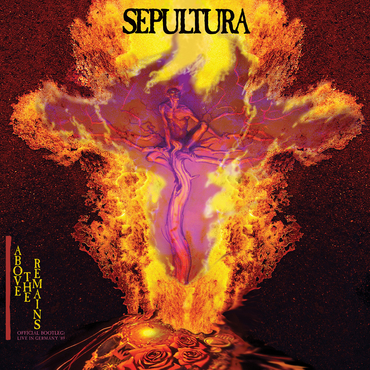 Buy Online Sepultra - Above The Remains Live '89 Red Translucent Vinyl