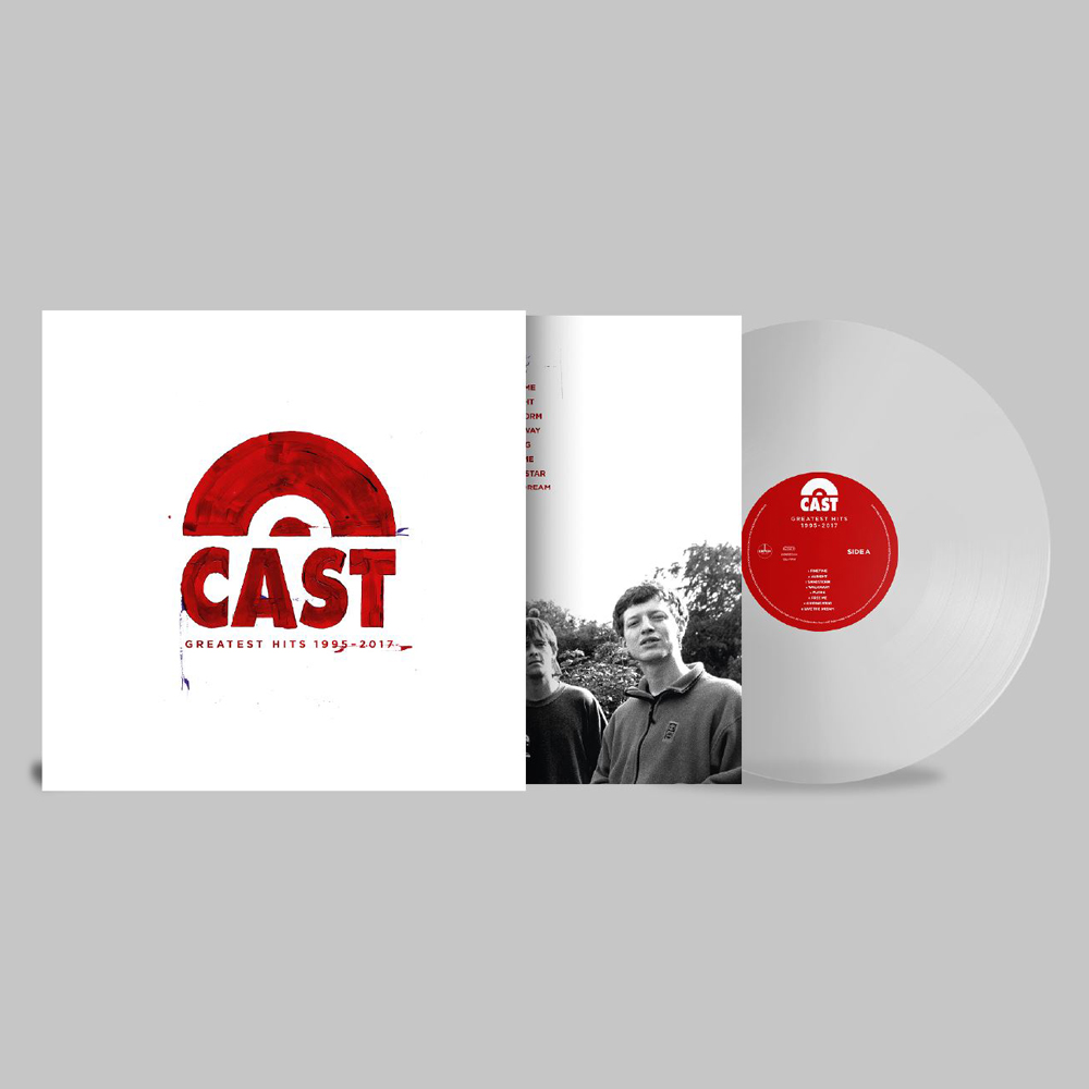 Buy Online Cast - Greatest Hits 1995-2017 Clear Vinyl