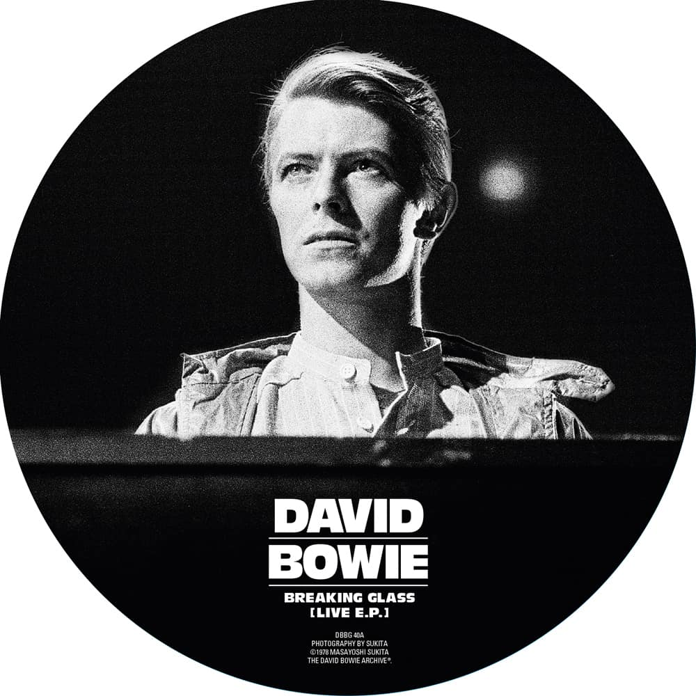 Buy Online David Bowie - Breaking Glass (Live EP) 40th Anniversary Picture Disc Vinyl