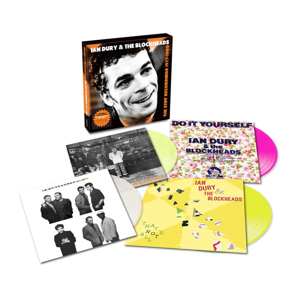 Buy Online Ian Dury - The Stiff Recordings1977 to 1980 4-Disc Coloured
