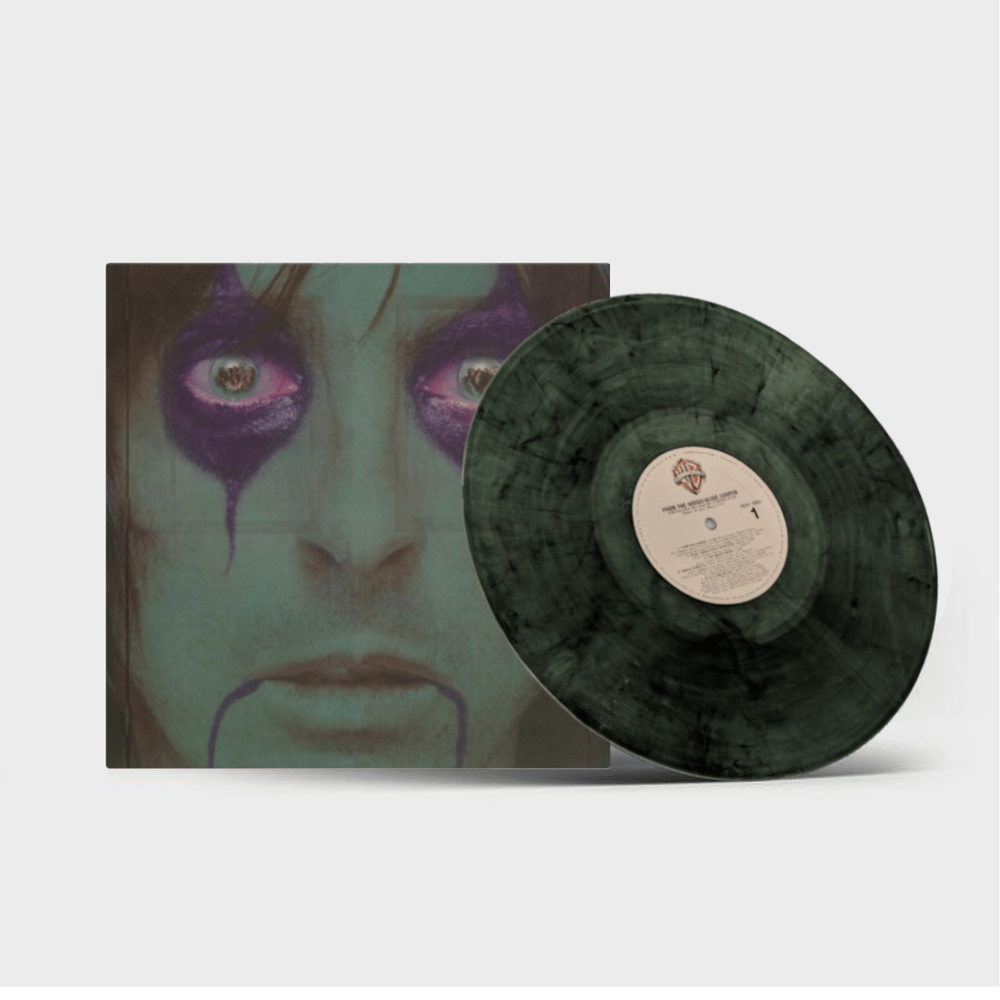 Buy Online Alice Cooper - How You Gonna See Me From The Inside Green/Black Swirl Vinyl